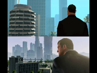 GTA 5 vs. San Andreas